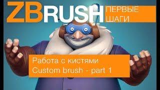 Кисти в ZBrush - part 1