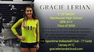 Gracie Lerian 2019 MIZUNO BOSTON VOLLEYBALL Tournament
