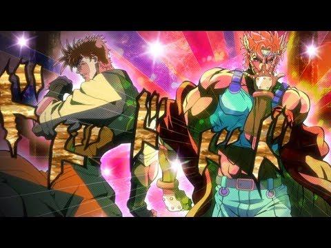 [AMV] Jojo's Bizarre Adventure Battle Tendency (Part 2) - Awaken( Pillar Men Theme)