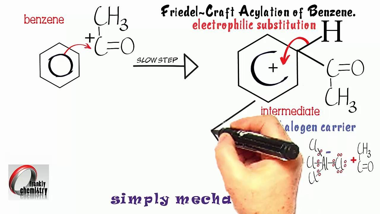Simply Mechanisms 11  Friedel-Craft Acylation