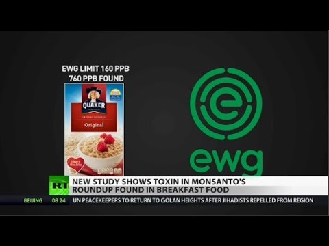 Monsanto's Roundup Weed Killer found in popular cereals