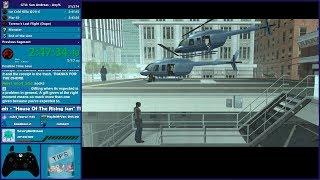 GTA San Andreas Any% Speedrun - Hugo_One Twitch Stream - 5/8/2019