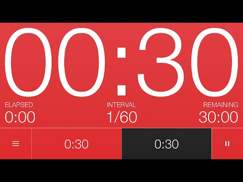 30 Second Interval Timer