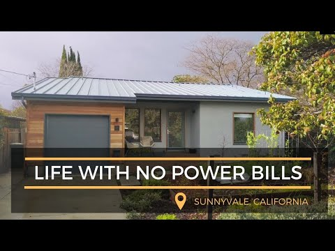 Sunnyvale Passive House - Life With No Power Bills