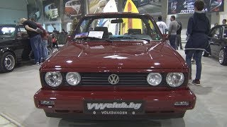 Volkswagen Golf Mk1 Cabriolet (1989) Exterior and Interior