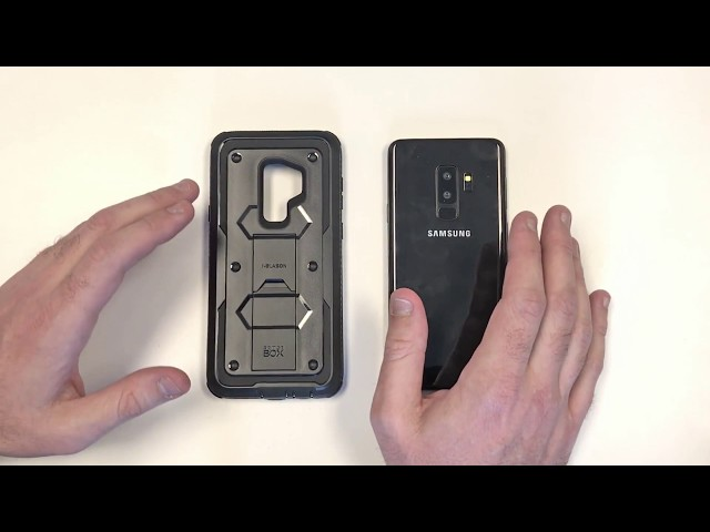 Galaxy S9 Plus Armorbox Overview and Installation Video | i-Blason