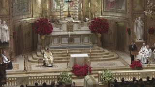 Governor Cuomo gives eulogy at father