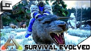 ARK: Survival Evolved - TAMING A DIRE WOLF / NEW BIOMES!! S2E24 ( Gameplay )