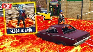 *NEU* FLOOR IS LAVA Modus in FORTNITE !