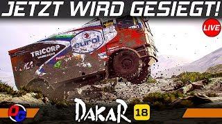 DAKAR 18 German #4 - Jetzt werden Etappen gewonnen!   Dakar 2018 Gameplay PC Let's Play Deutsch