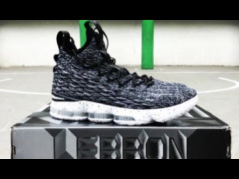 29ee5555f9d NIKE LEBRON 15 ASHES SNEAKER DETAILED LOOK - YouTube