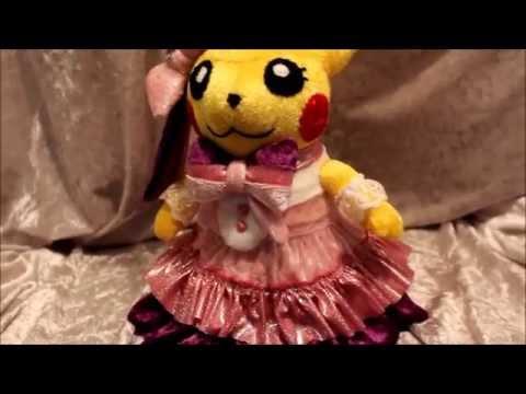 Cosplay Pikachu Popstar Plush