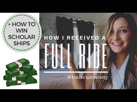 How I Got A Full Ride Academic Scholarship | Tips For Applying And Receiving Financial Aid