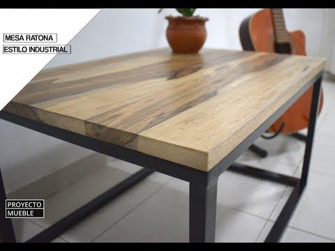 Mesa Ratona, Estilo Industrial! ( Industrial Coffee Table)