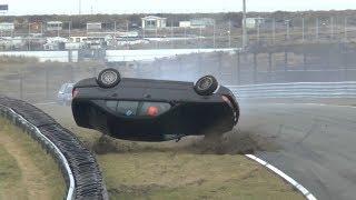BMW E39 5-series Rollover crash - Scheivlak