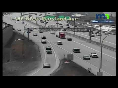 St. Paul police chase on I-694
