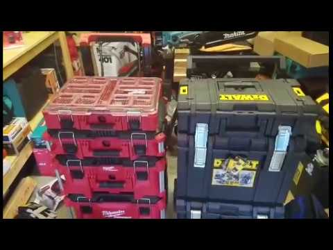 Milwaukee PackOut vs DeWalt Tough System