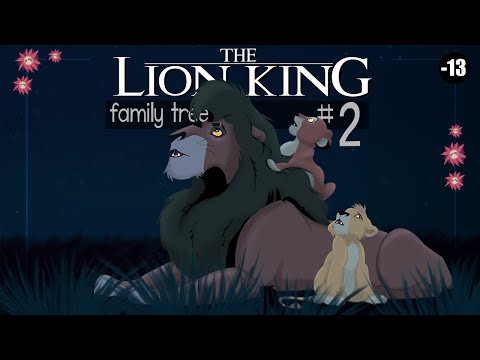 The Lion King Family Tree Part 2 Youtube