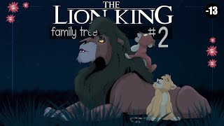 THE LION KING FAMILY TREE | New Generations (Remake part2 )