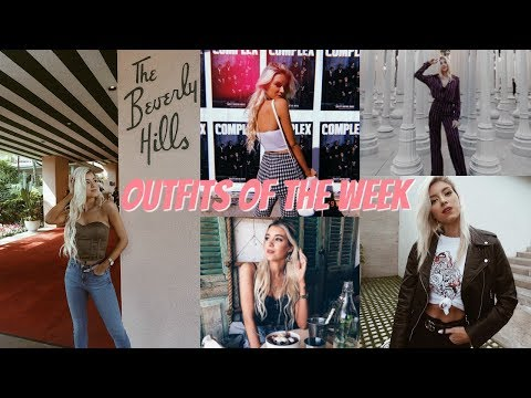 COLLEGE SPRING BREAK OUTFITS OF THE WEEK: LOS ANGELES