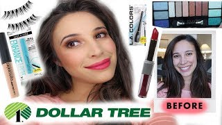 FULL FACE DOLLAR TREE MAKEUP **WOW!! I DOLLAR STORE MAKEUP CHALLENGE