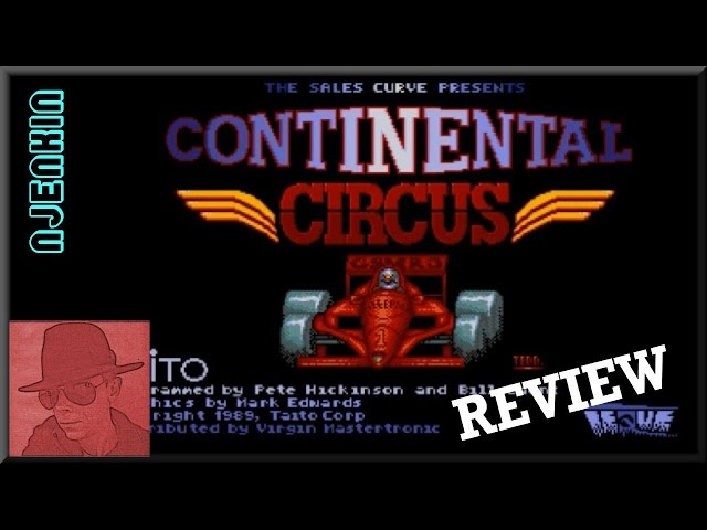 AMIGA : Continental Circus - with Commentary !!