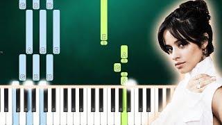 Camila Cabello - Cry For Me (Piano Tutorial Easy) By MUSICHELP