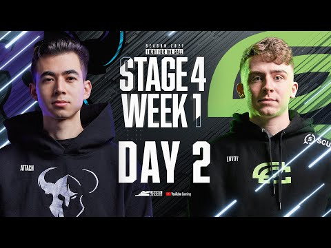 Call of Duty League 2021 Season | Stage IV Week 1 — Chicago Home Series | Day 2