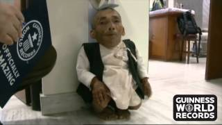 The world's shortest man - Nepal's Chandra Bahadur Dangi