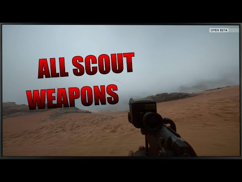 BF1 All Scout Class Weapons - Battlefield 1 Open Beta