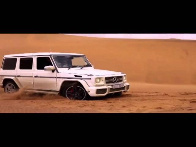 Navigating the Mercedes G-Class Wagon in the desert