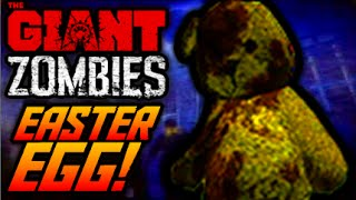 Black Ops 3 Zombies THE GIANT NEW EASTER EGG! ~ MOVING TEDDY BEAR SECRET! (COD BO3 Zombies The Giant