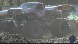 Monster truck festival held in Cayce, South Carolina