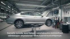 Aito Volkswagen-huolto – takaamme laadun