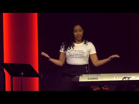 TEDx Talks: Finding Fearlessness Through Art   Krystal Gem   TEDxJackson