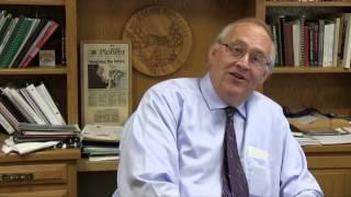 BSU President Hanson accepts ALS Challenge Thumbnail