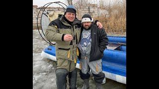 Рыбалка на раскатах у Дрона в декабре 2020 года