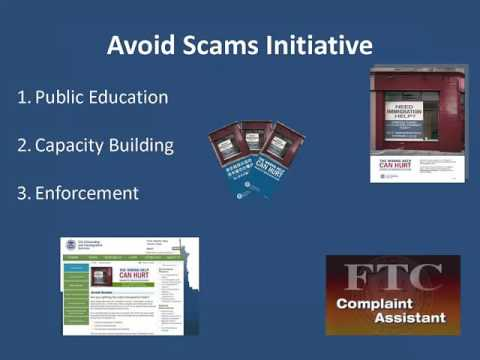Webinar for Law Enforcement on Prosecuting Immigration Services Fraud