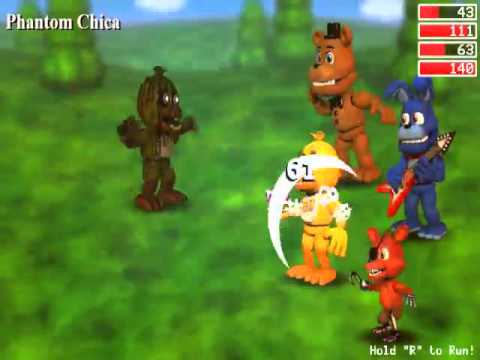 FNAF World - Full Gameplay Part 1 - No Commentary