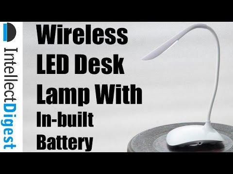 Wireless Desk Lamp By Fashion Wind- Multi-purpose Rechargeable LED Desk Lamp