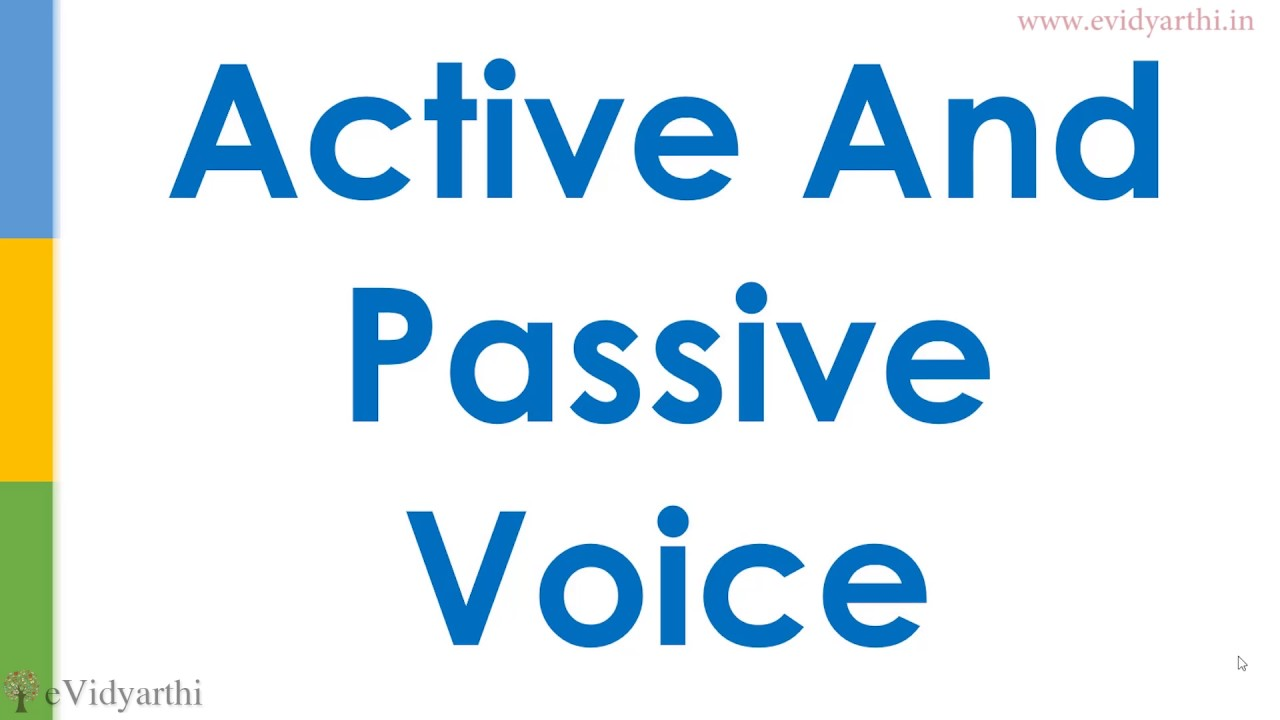 Basic English Active And Passive Voice Exercise Youtube