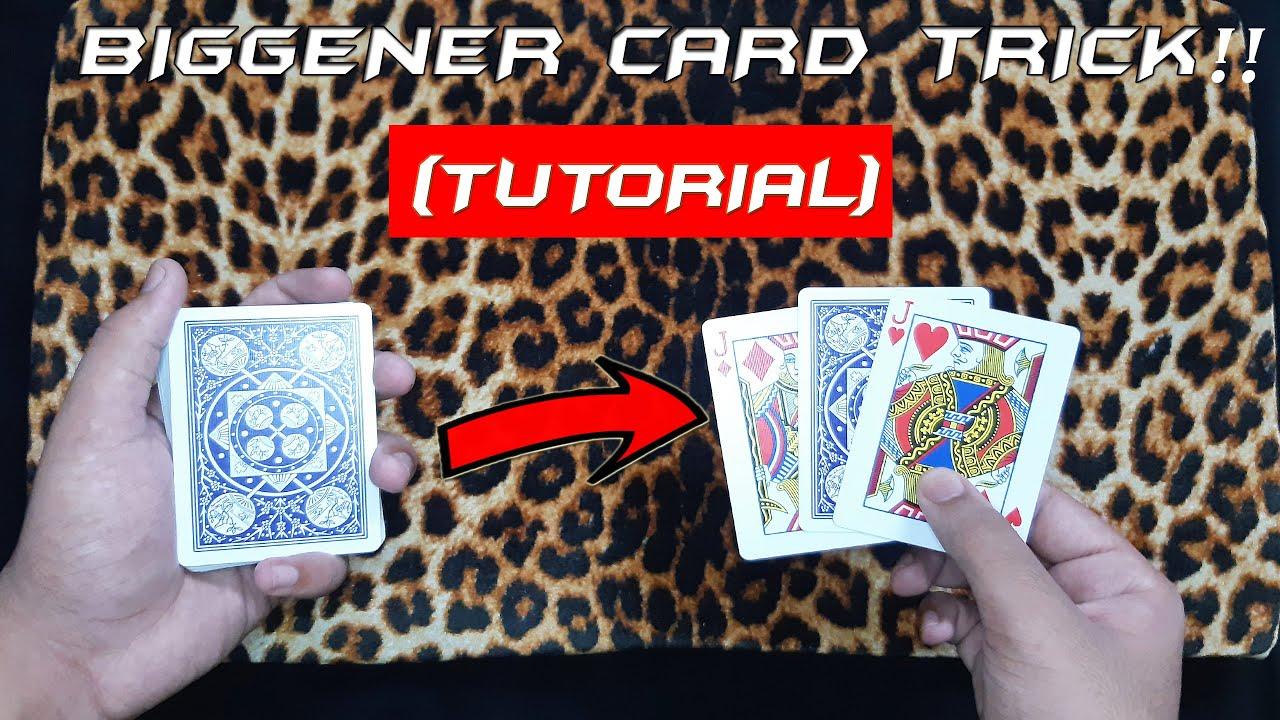 easy beginner card tricktutorial  youtube