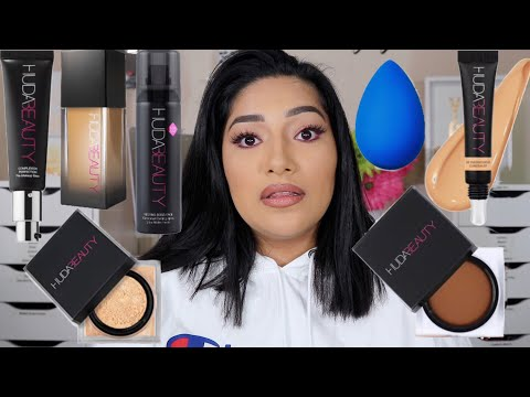 TESTING OUT NEW HUDA BEAUTY RELEASES | FIRST IMPRESSIONS - ALEXISJAYDA