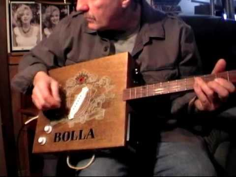 Handmade Bolla Wine Box Guitar ... Medley of soft sounds and heavy gain jamming...