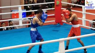 13th SAG BOXING NEPAL(sushil) vs INDIA