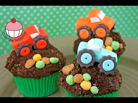 Monster Truck Cupcakes Simple Sugar Modelling By Cupcake