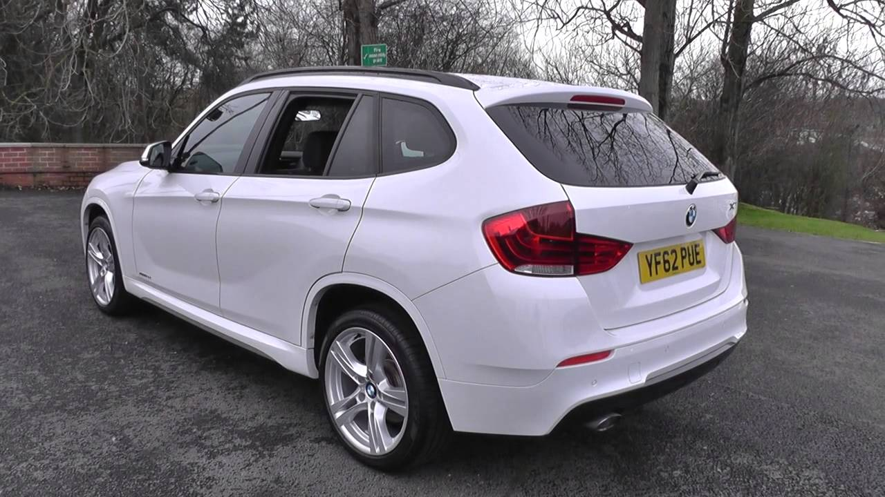 bmw x1 xdrive 18d m sport 5dr u25475 youtube. Black Bedroom Furniture Sets. Home Design Ideas