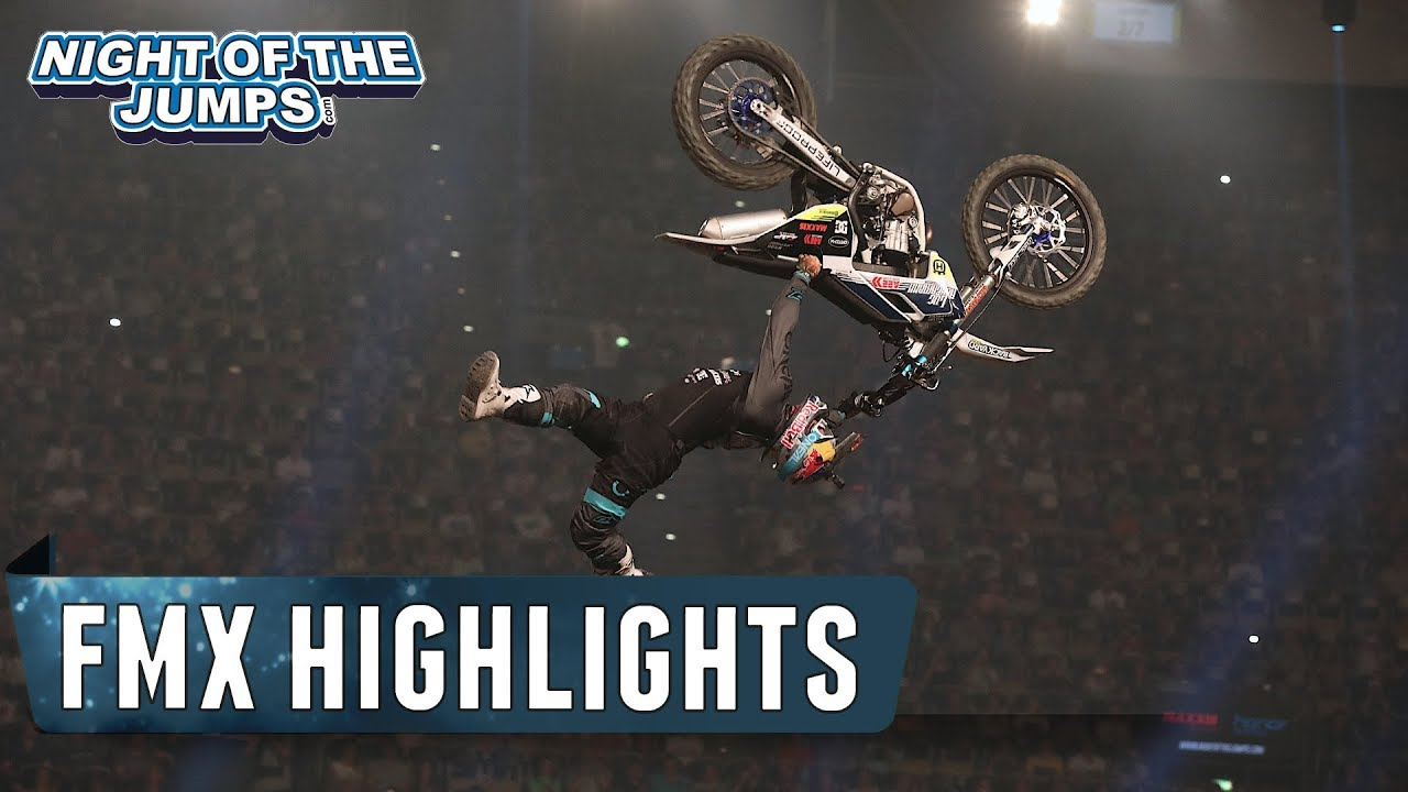 Night Of The Jumps Fmx Highlights München 2018 Youtube