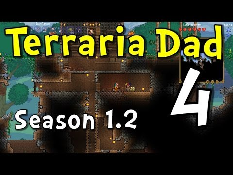 "Terraria Dad S2E4 ""Hat Exchange!"" (Family Multiplayer Gaming)"