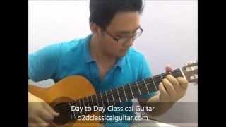 FF X - At Zanarkand, Classical Guitar Cover @ d2dclassicalguitar